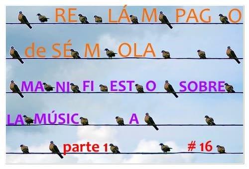 RELÁMPAGO DE SÉMOLA #16