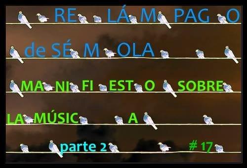 RELÁMPAGO DE SÉMOLA #17