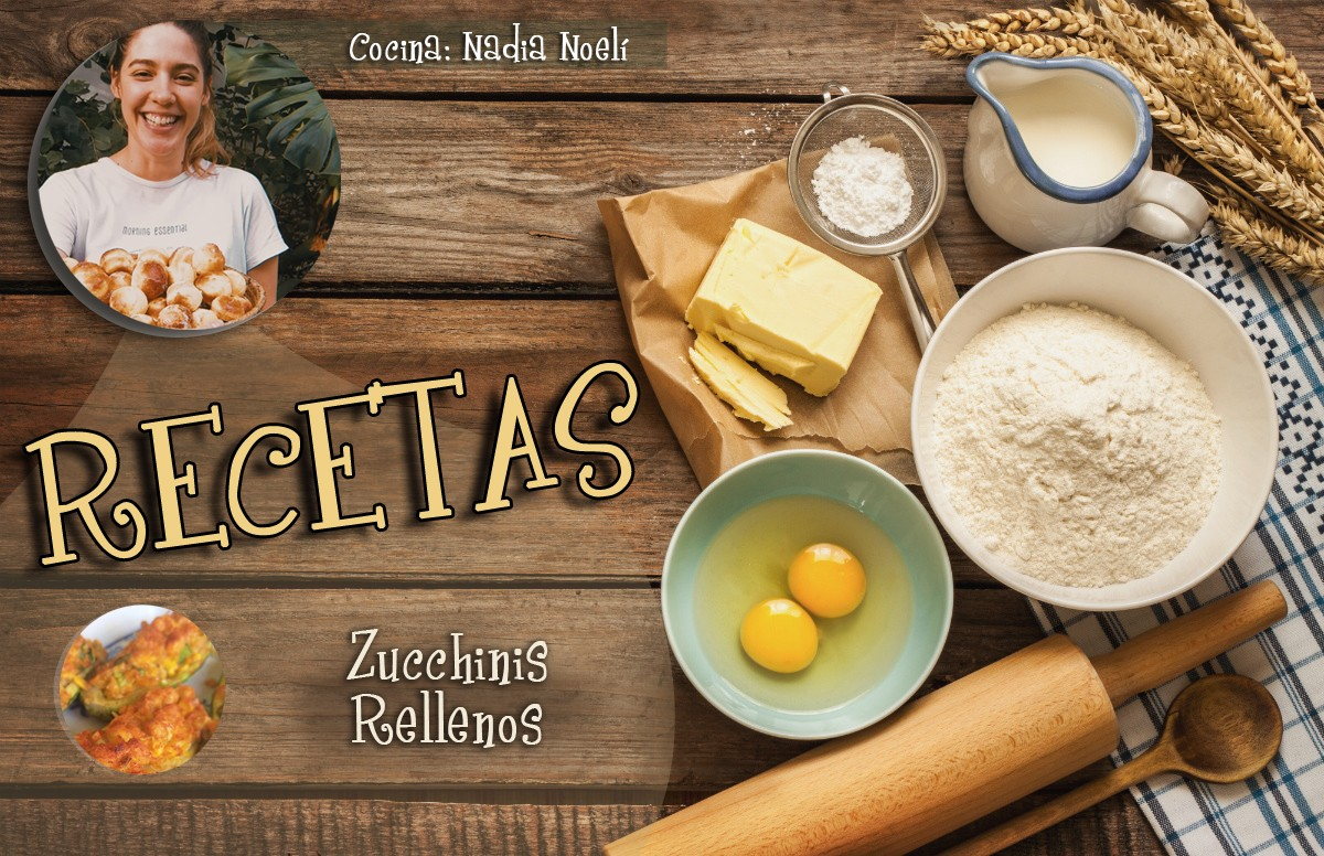 RECETAS: Zucchinis Rellenos