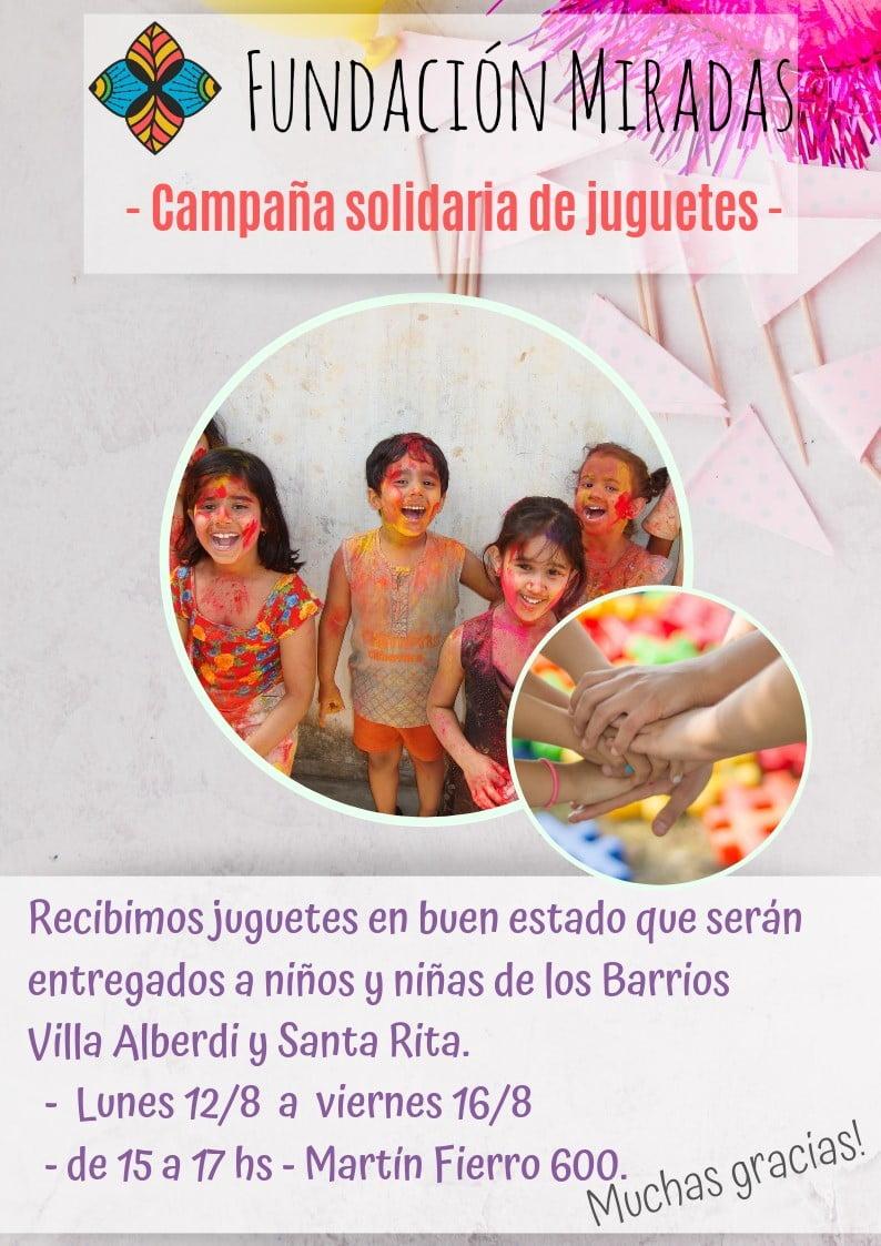 Campaña Solidaria de Juguetes