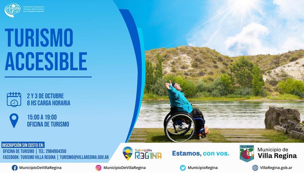 Turismo Accesible: Nuevo curso del Municipio junto a FEHGRA