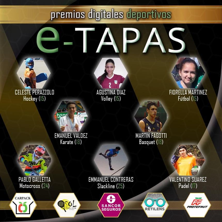 PREMIOS DEPORTIVOS E-TAPAS 2019/LA FINAL