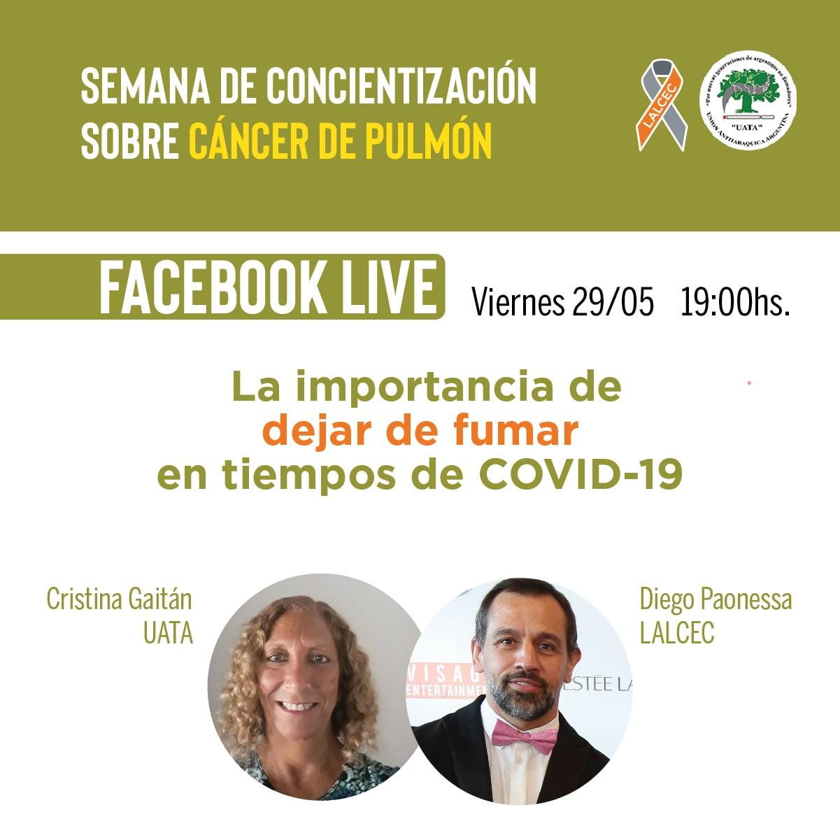 Semana de concientización sobre cáncer de pulmón