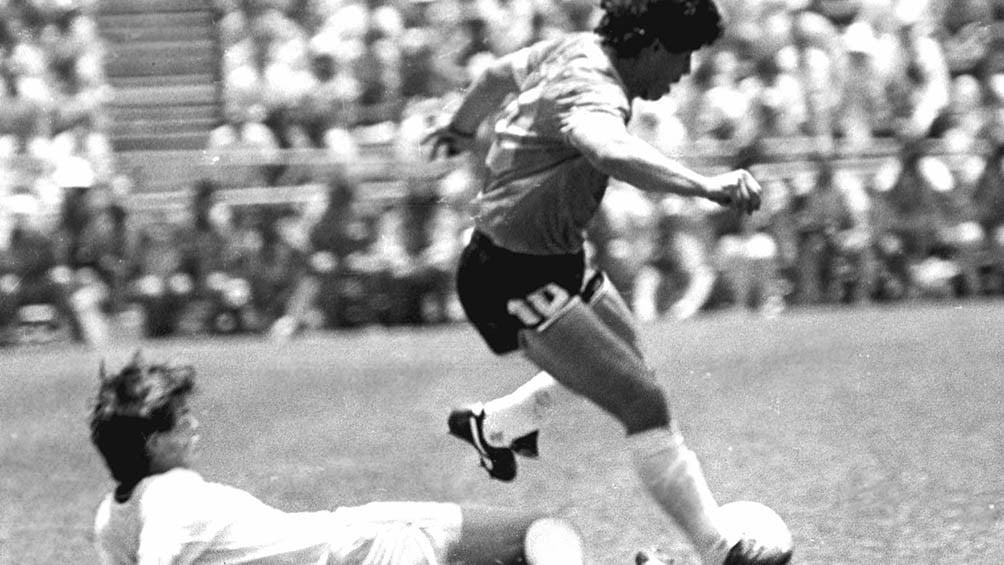 Enrique, a 34 años del «Gol de todos los tiempos»: «No había forma de parar a Maradona»