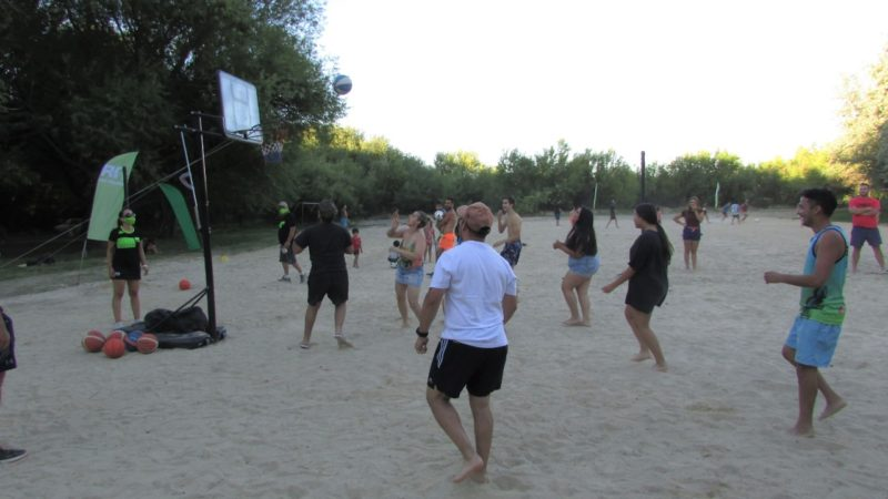 Básquet playa, la propuesta para el domingo en la Isla 58