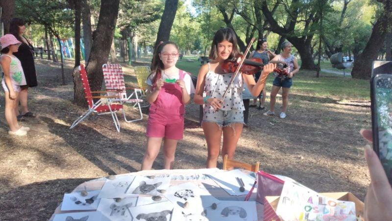 'Trocitos de arte' en los 'Domingos de Plaza'