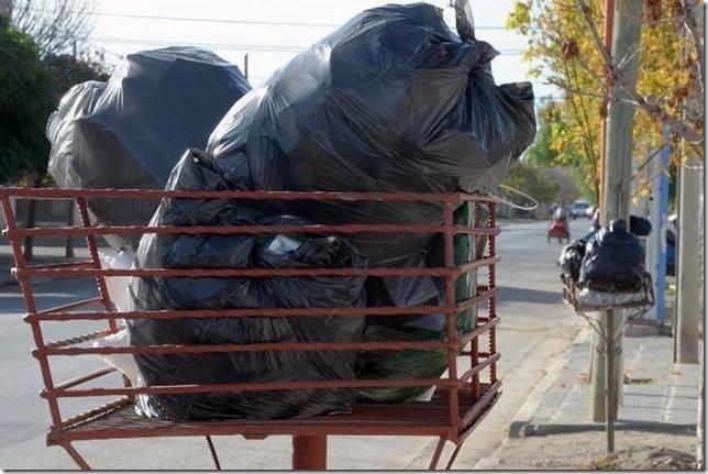Se retoma el horario habitual de recolección de residuos domiciliarios