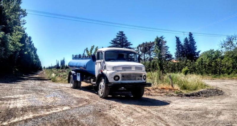 Contratación de camiones regadores