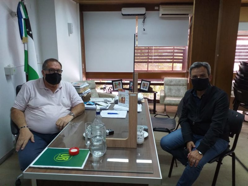 Orazi recibió al Secretario de Estado de Cultura, Ariel Ávalos