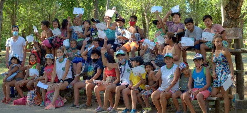 500 niños y niñas disfrutaron de la Colonia de Vacaciones