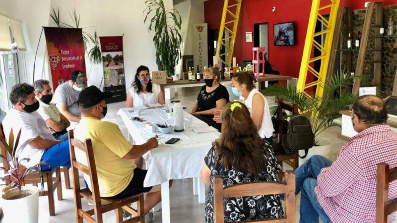 Reunión con la Mesa de Turismo Rural