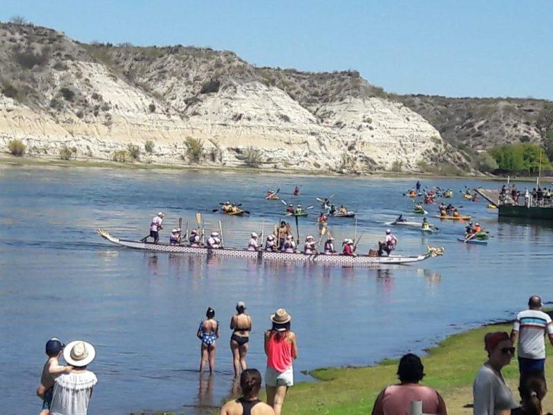 Anuncios, emoción y una gran participación en la Bajada de Canoas