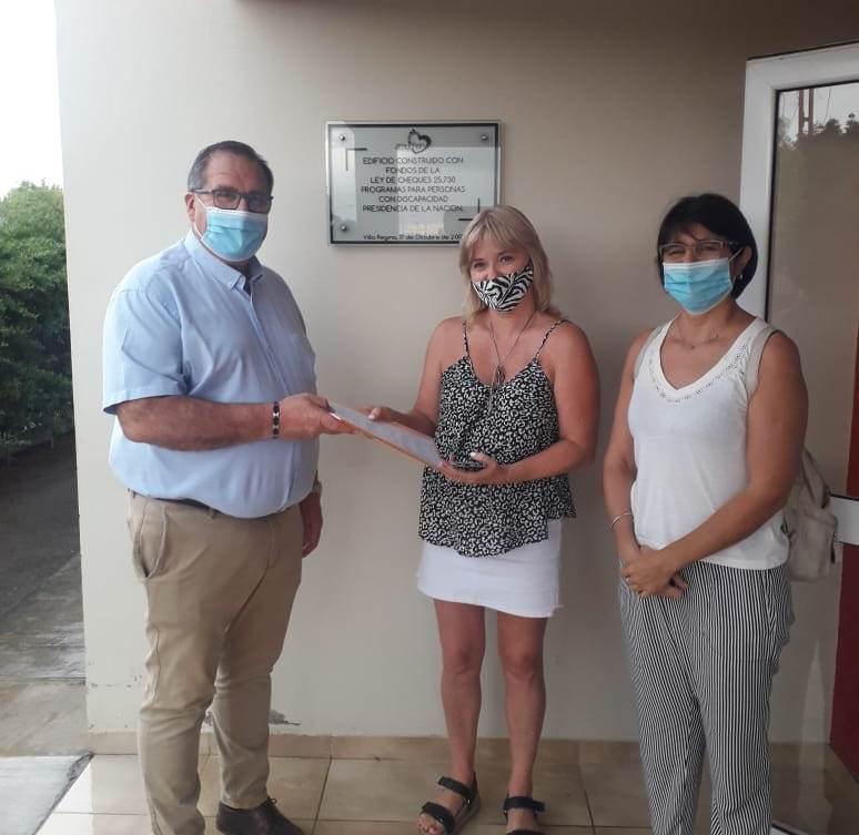 Orazi visitó Amuchen y se interiorizó de las acciones planificadas para este año