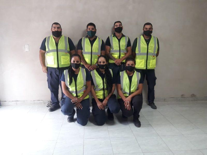 Entrega de indumentaria para personal de Tránsito