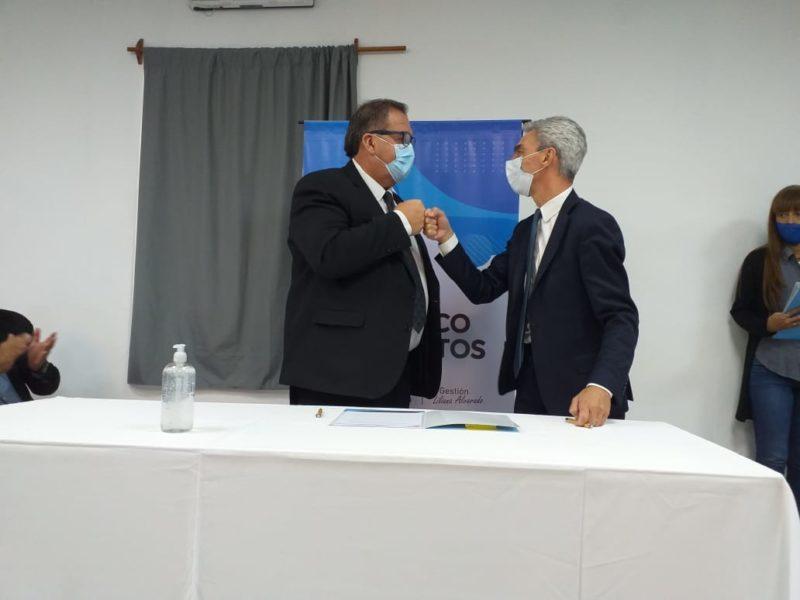 Orazi firmó el convenio para la remodelación integral de la terminal de ómnibus