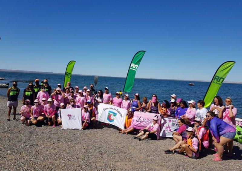 'Valkirias Rosas' participó de un encuentro en Lago Pellegrini