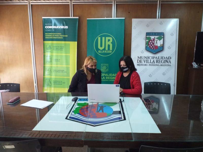 Regina participó del lanzamiento de 'La UNS en la región'