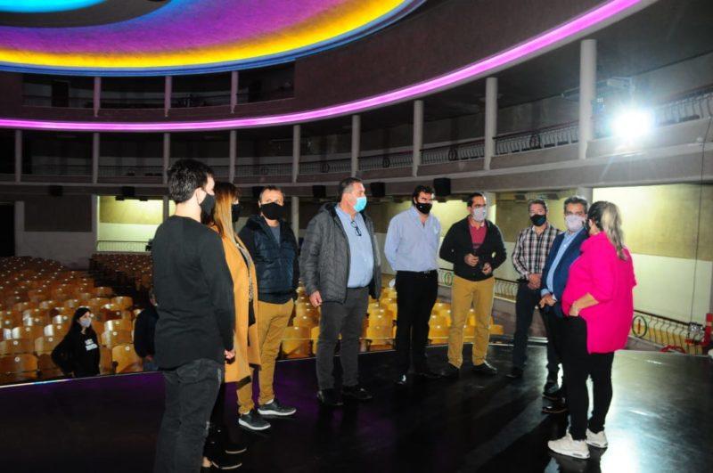 Orazi y Ávalos visitaron instituciones culturales reginenses