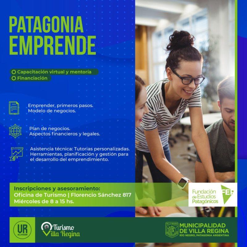 Asesoramiento e inscripciones para 'Patagonia emprende'
