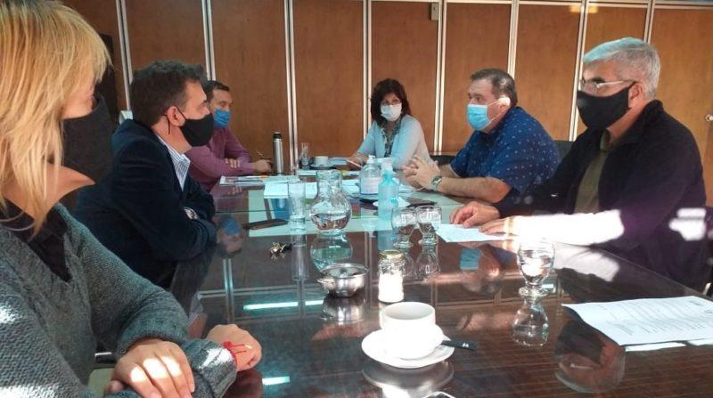 Orazi encabezó reunión con su Gabinete