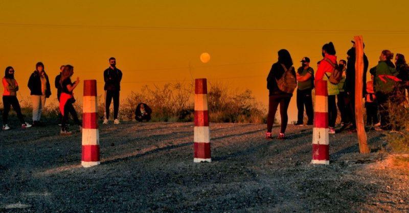 Astroturismo: los participantes disfrutaron de la súper luna
