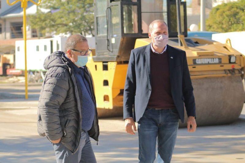 Orazi recibió al vicegobernador Alejandro Palmieri