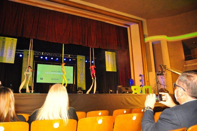 Maratón Cultural: el reencuentro de artistas con el escenario