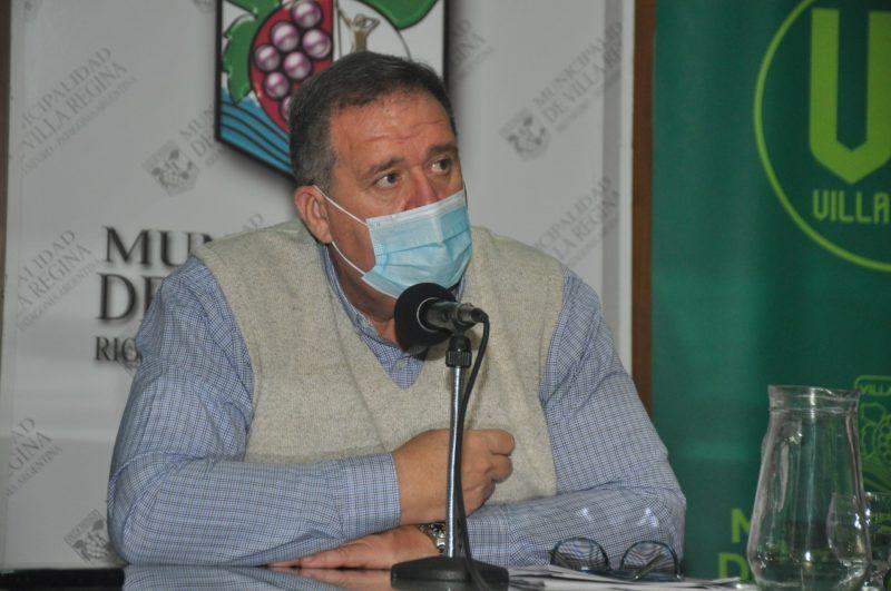 Orazi realiza gestiones en Viedma