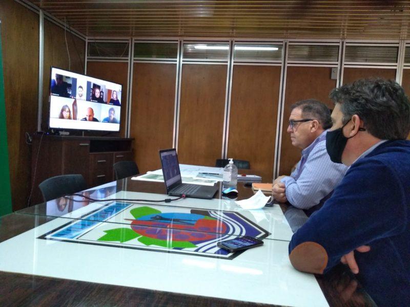 Reunión virtual para conocer detalles del proyecto de renovación de la terminal