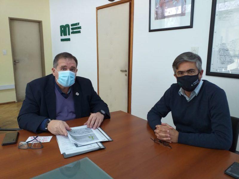 Orazi anunció la repavimentación de tres estratégicas calles rurales