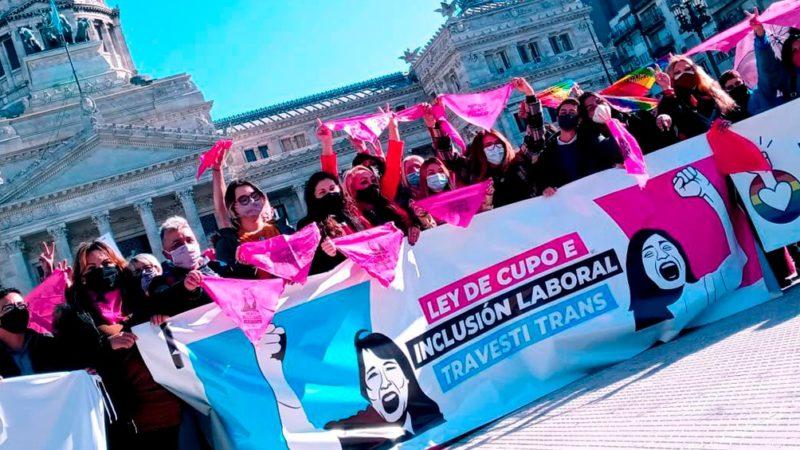 Día Internacional del Orgullo LGBTI+, con el plus de que el cupo laboral travesti trans es ley en el país