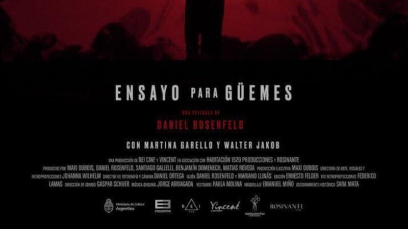 Canal Encuentro y el Ministerio de Cultura estrenan Ensayo para Güemes