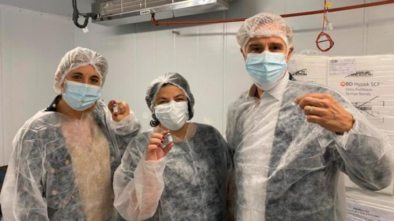 Se producirán 2 millones de vacunas por mes en Argentina