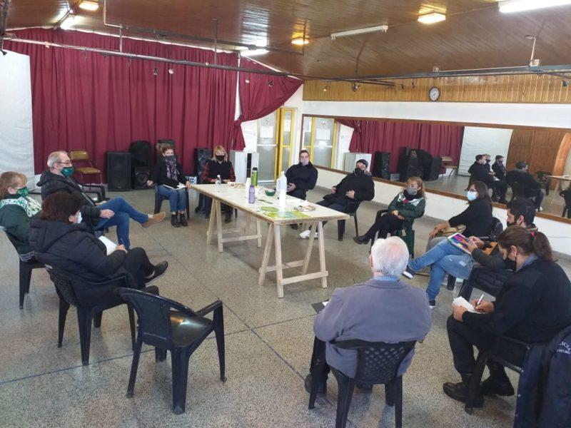Encuentro interinstitucional convocado por la Agencia para la prevención y asistencia del abuso de sustancias y adicciones