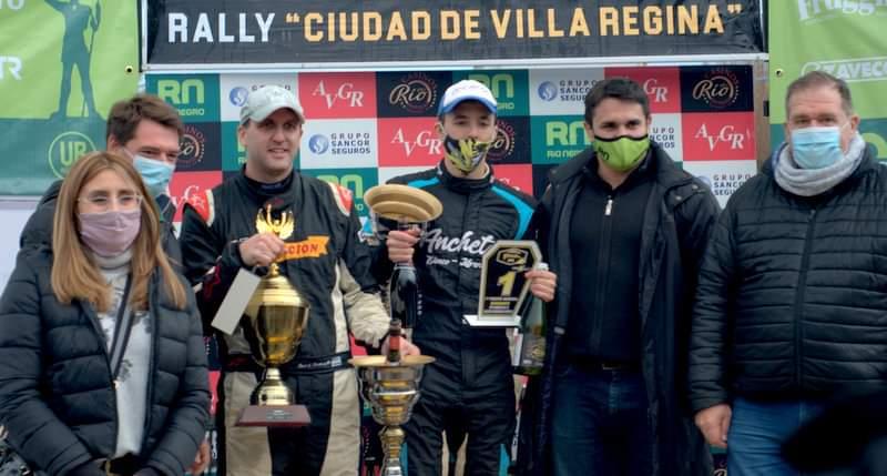 Martínez-Giménez ganaron el Rally 'Ciudad de Villa Regina'
