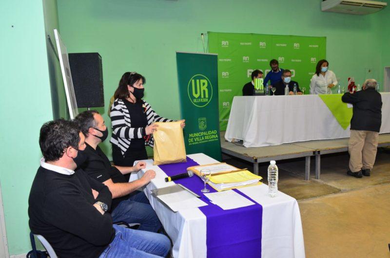 Se abrieron los sobres de las ofertas de la obra de servicios para loteo Barazzutti