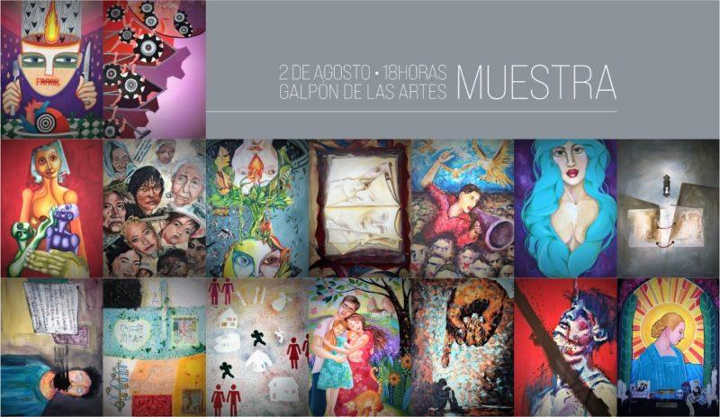 Se inaugura muestra 'Artistas visuales rionegrinos representan los derechos humanos'