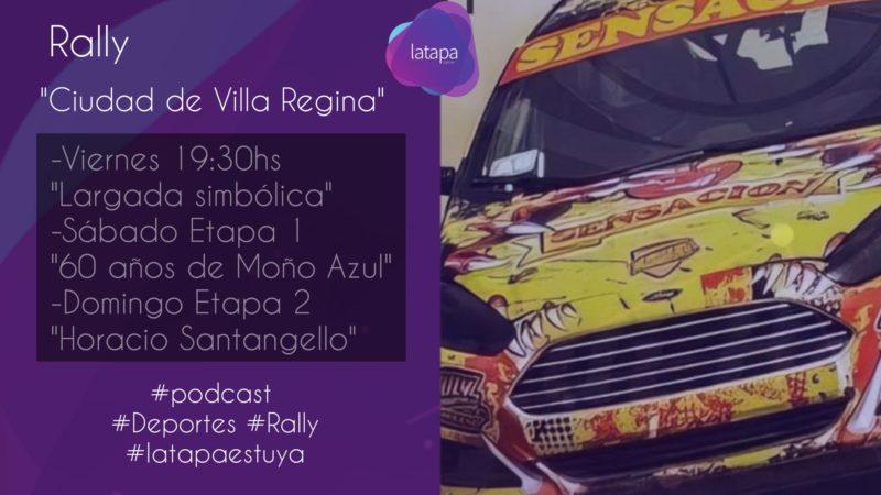 """Rally """"Ciudad de Villa Regina"""": Las subidas a la barda se cierran una hora antes de las largadas"""