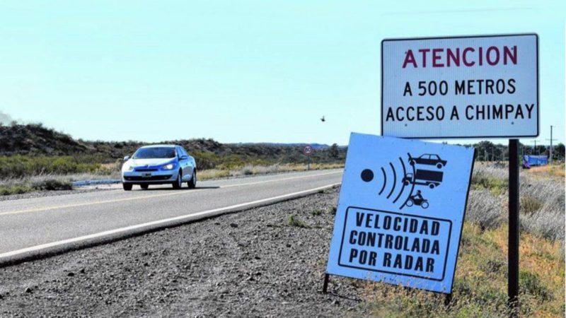 Se mantiene suspendida la ordenanza que habilita los radares en Chimpay