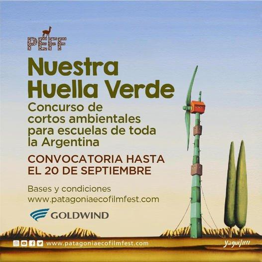 """""""Nuestra Huella Verde"""", concurso de cortos ambientales para la escuelas de Argentina"""