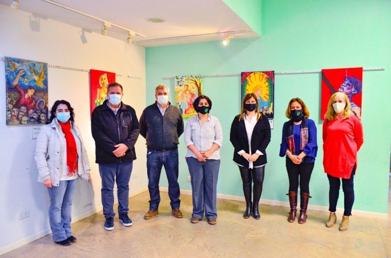 Se inauguró la muestra sobre derechos humanos