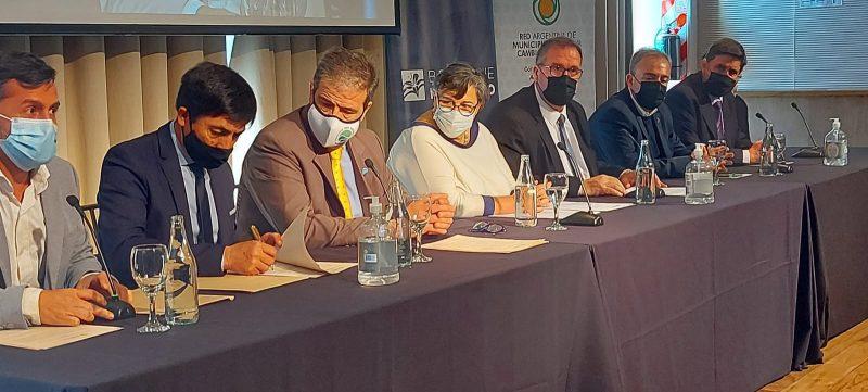 Orazi participa de la Asamblea Nacional de Intendentes frente al Cambio Climático