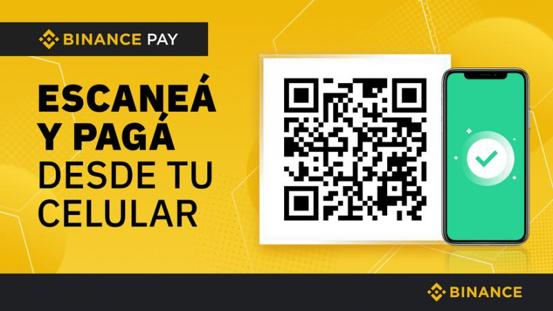 """Binance lanza su """"Mercado Pago"""" cripto en el país: en exclusivo, sus ventajas al pagar o cobrar con QR"""