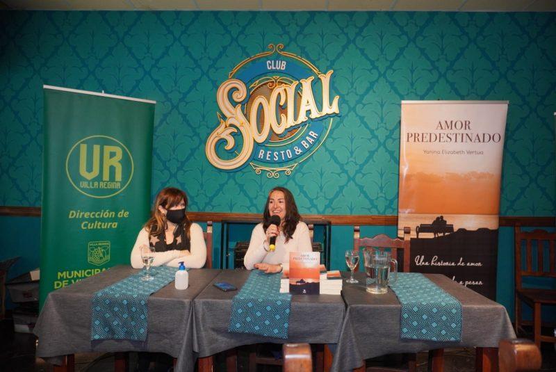 Cultura acompañó la presentación del libro de Yanina Vertúa