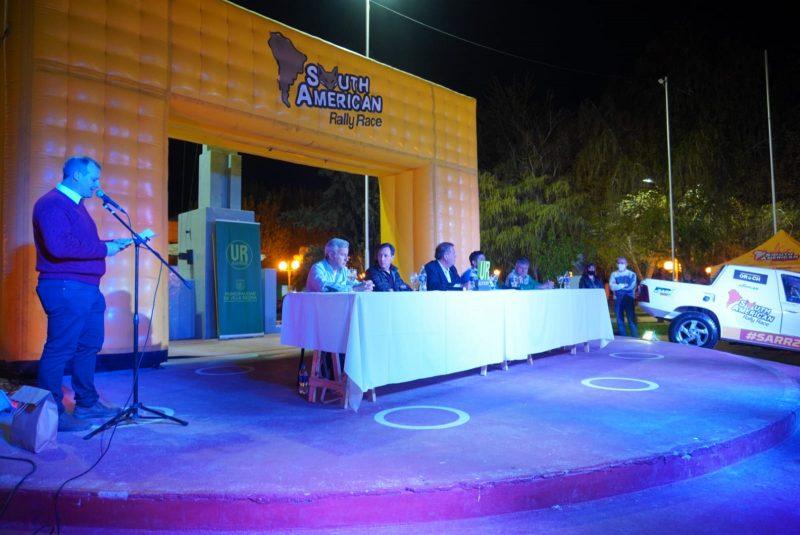 Orazi participó de la presentación del South American Rally Race