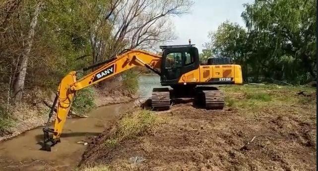 Continúan los trabajos para mejorar la captación de agua en las plantas